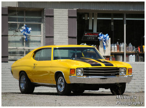 A Yellow Chevelle