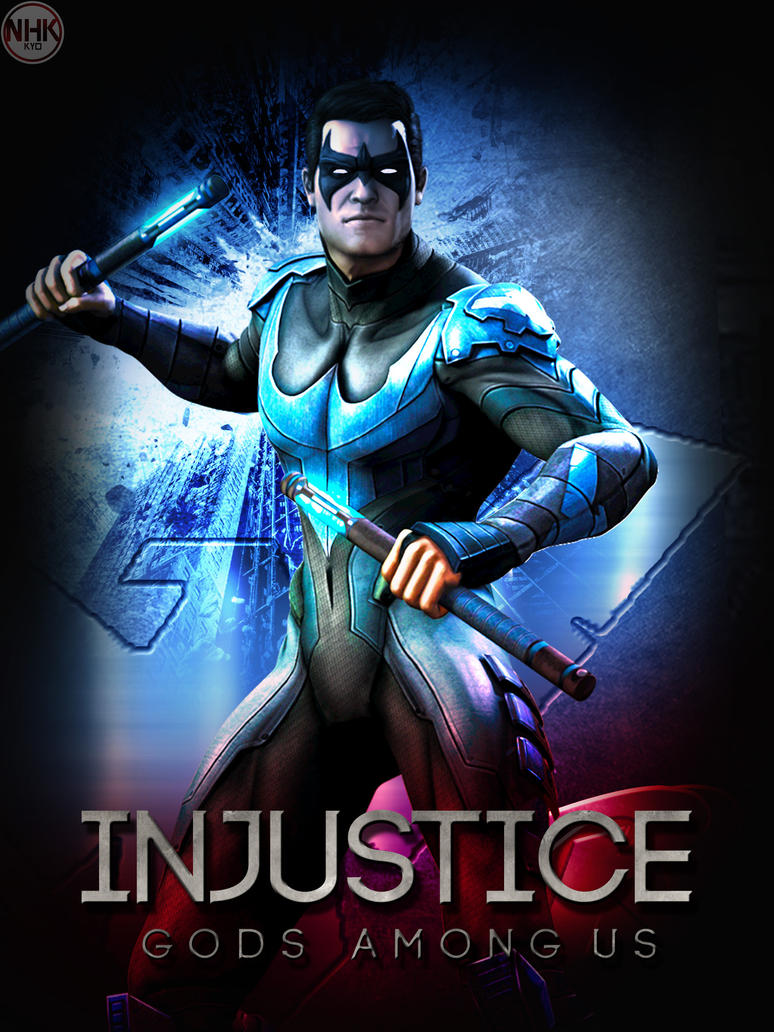INjustice Nightwing poster by NHKkyo