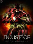 INjustice Flash poster