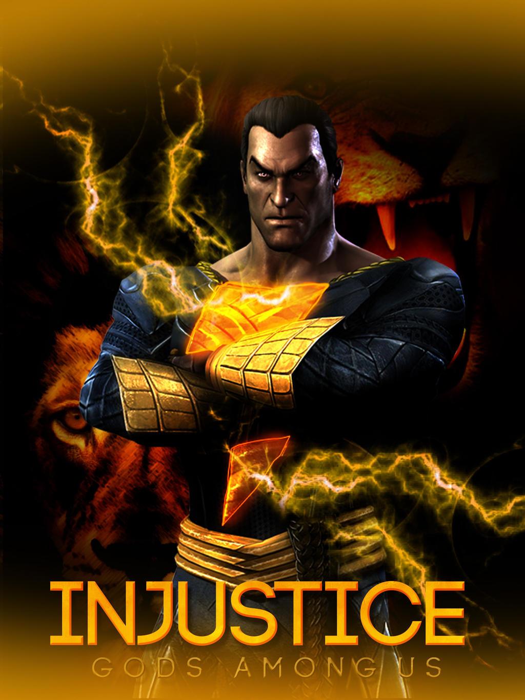 Black Adam Injustice New 52
