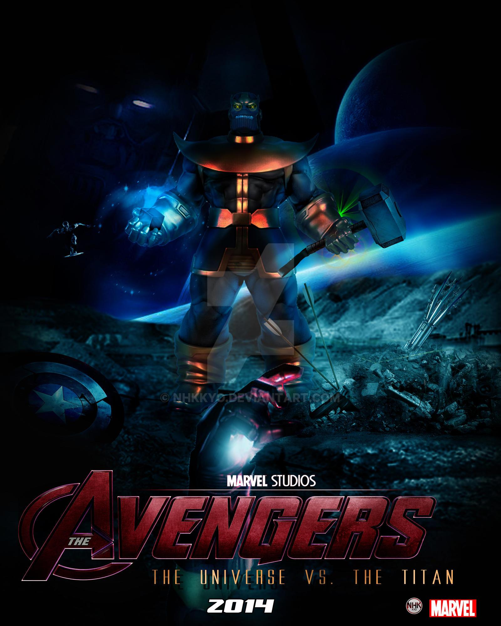 avengers VS thanos - Collaboratables by NHKkyo on DeviantArt
