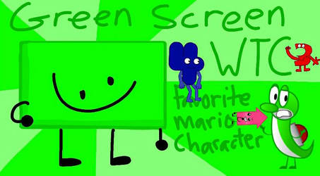 Green Screen for WTC 3