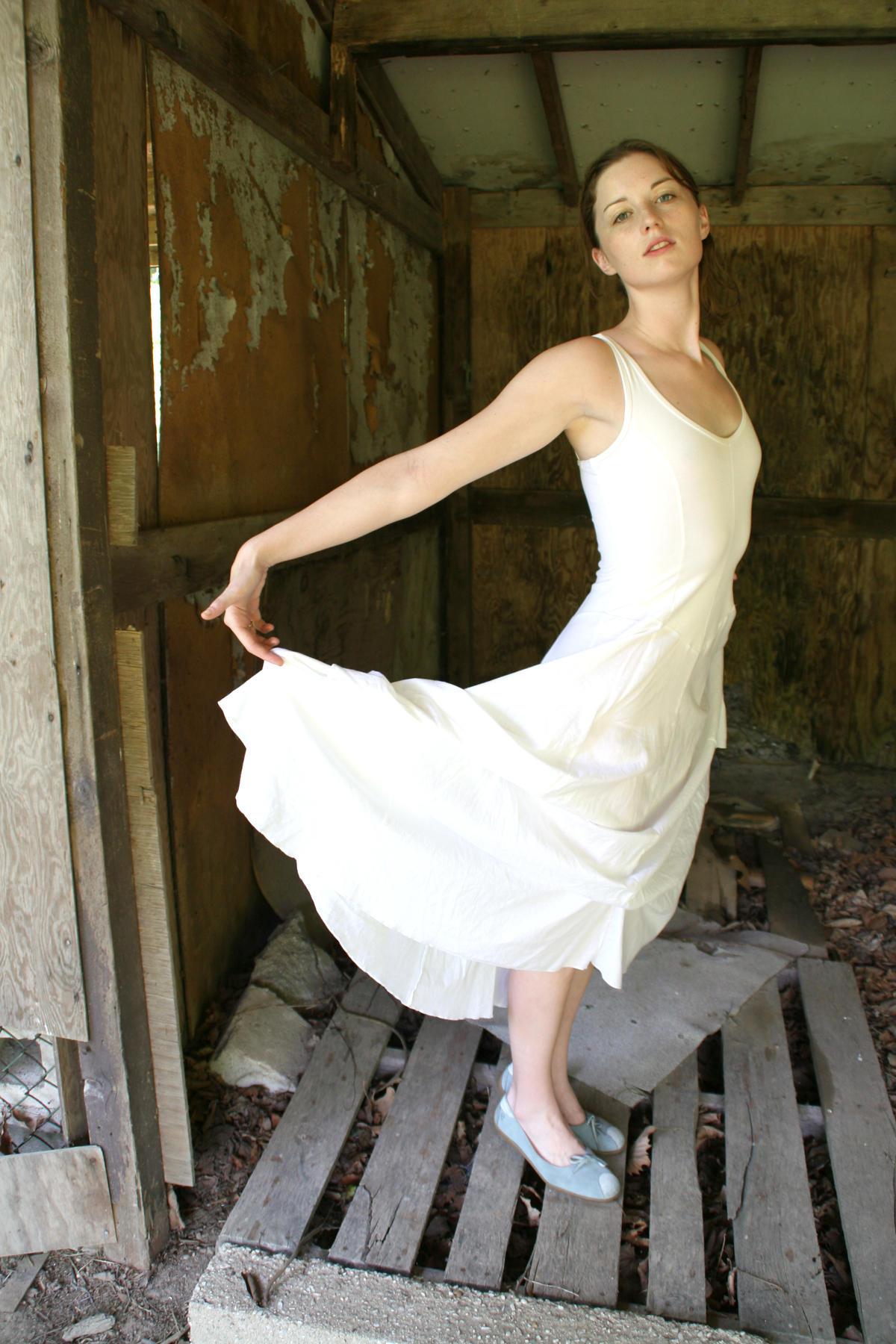 White dress1 by beanstalk