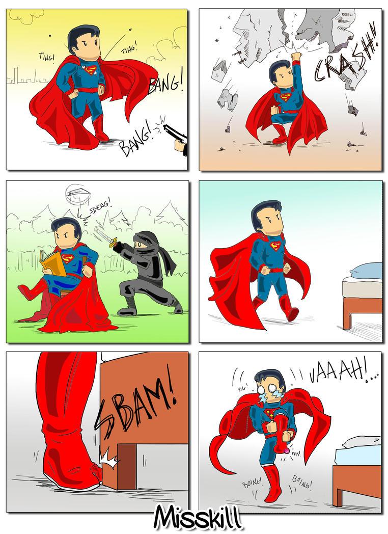 Superman : Man of.... steel? by CaterinaOrlando