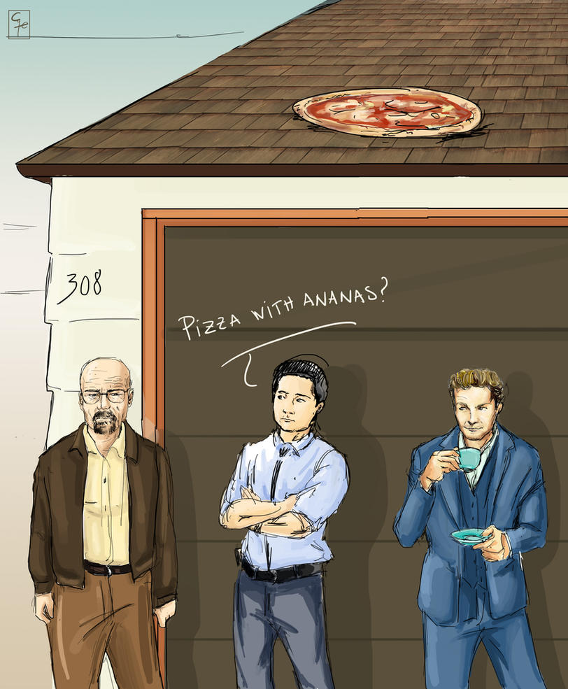 Breaking Bad meets The Mentalist by CaterinaOrlando