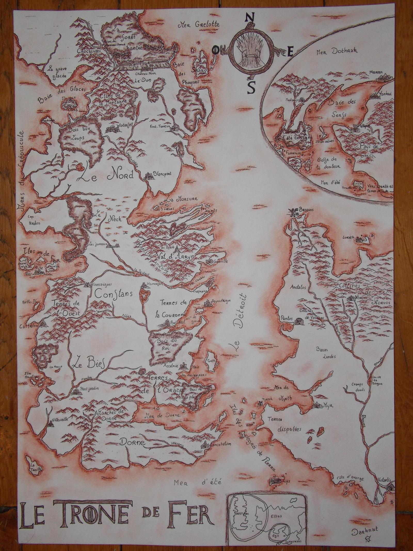 carte westeros essos