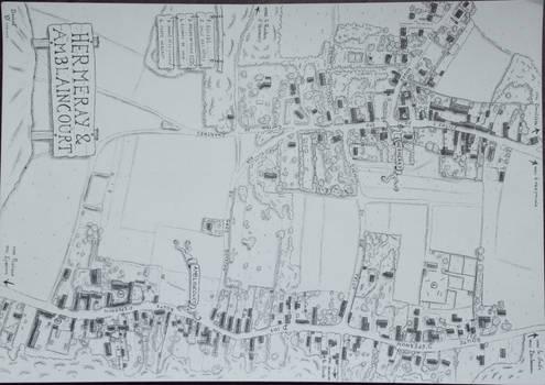 Plan d'Hermeray-Amblaincourt