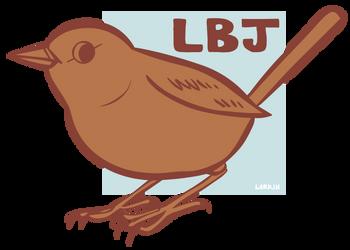 'Little Brown Job' by larkinheather
