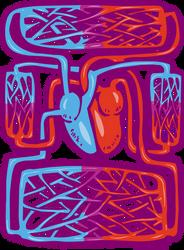 Blood Flow Circuit by larkinheather