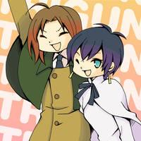 Girls in TRIGUN by Yuki-jirushi