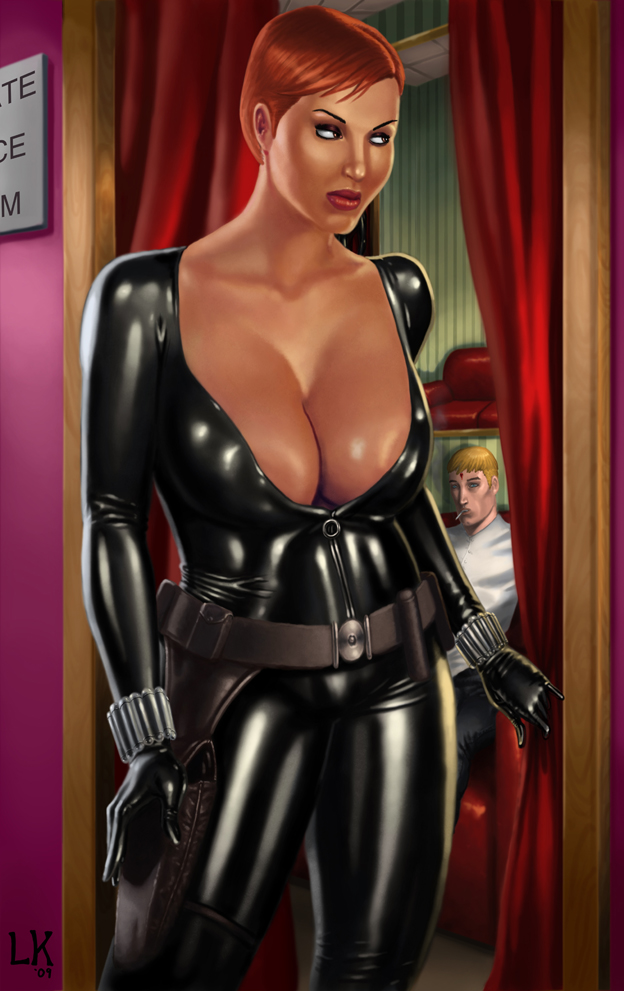Sex black widow exhibitionist