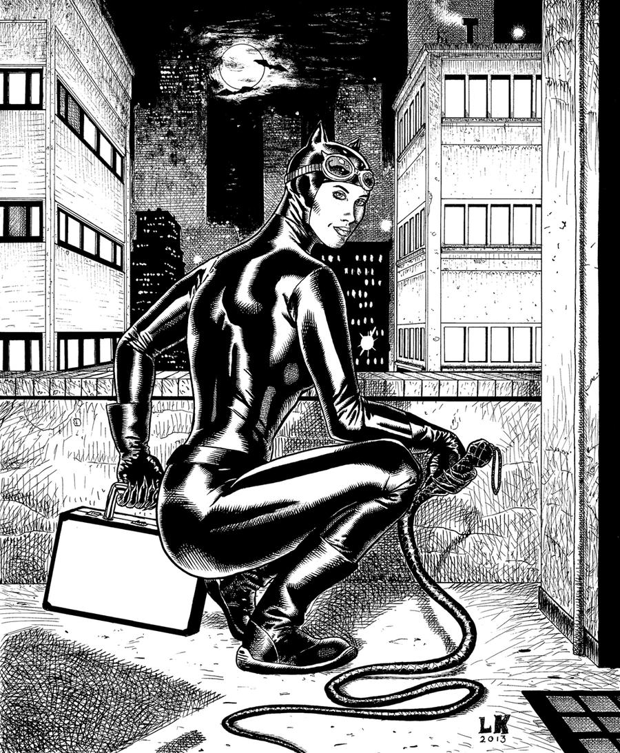 Catwoman by lee-kalba