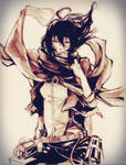 Mikasa from Attack on Titan :D