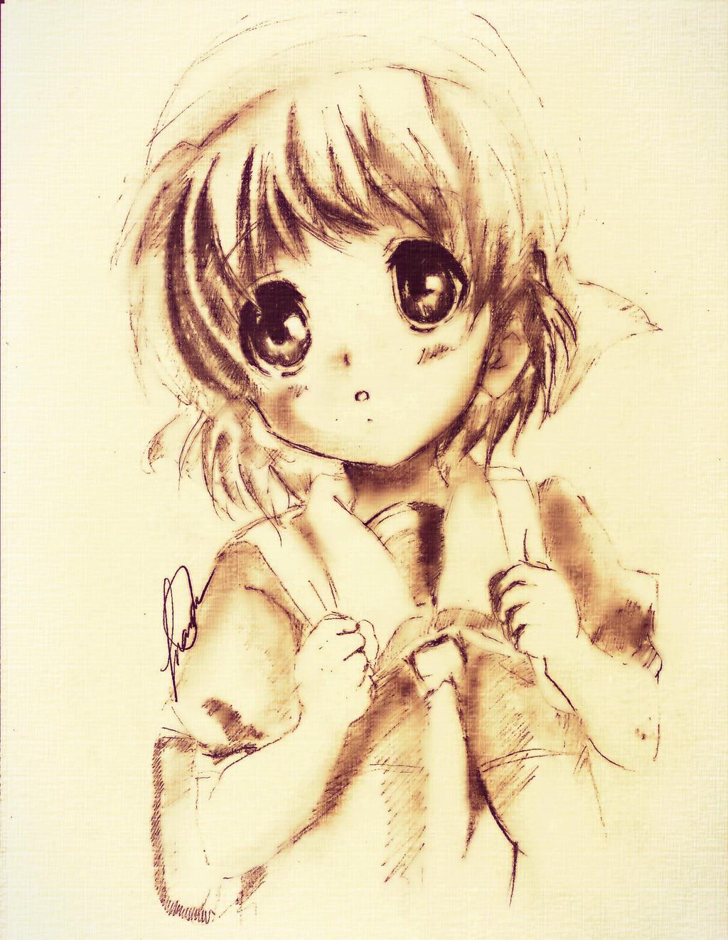 Ushio From Clannad by MaryM8D