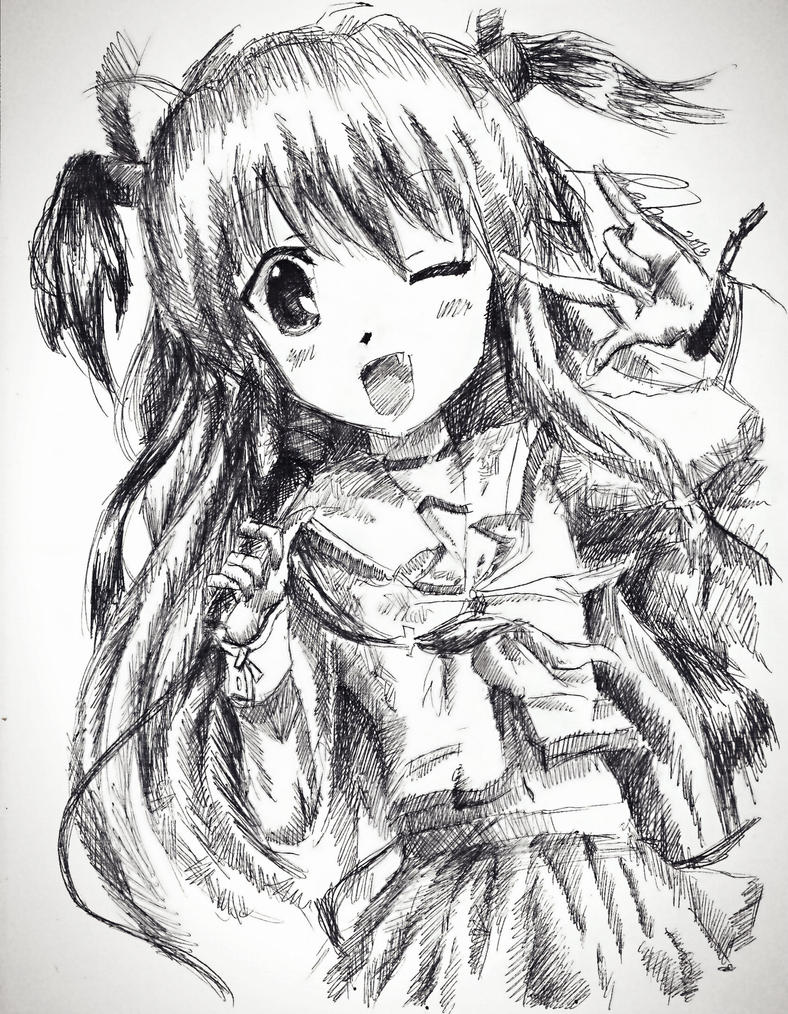Yui From Angel Beats! by MaryM8D