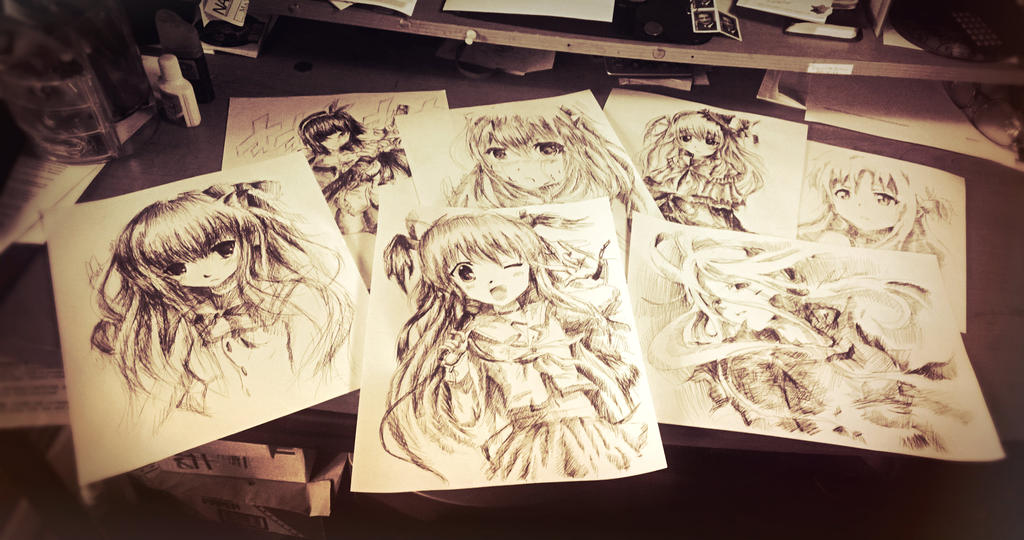 Anime Drawings Deviantart
