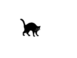 balck cat by spooky-dream