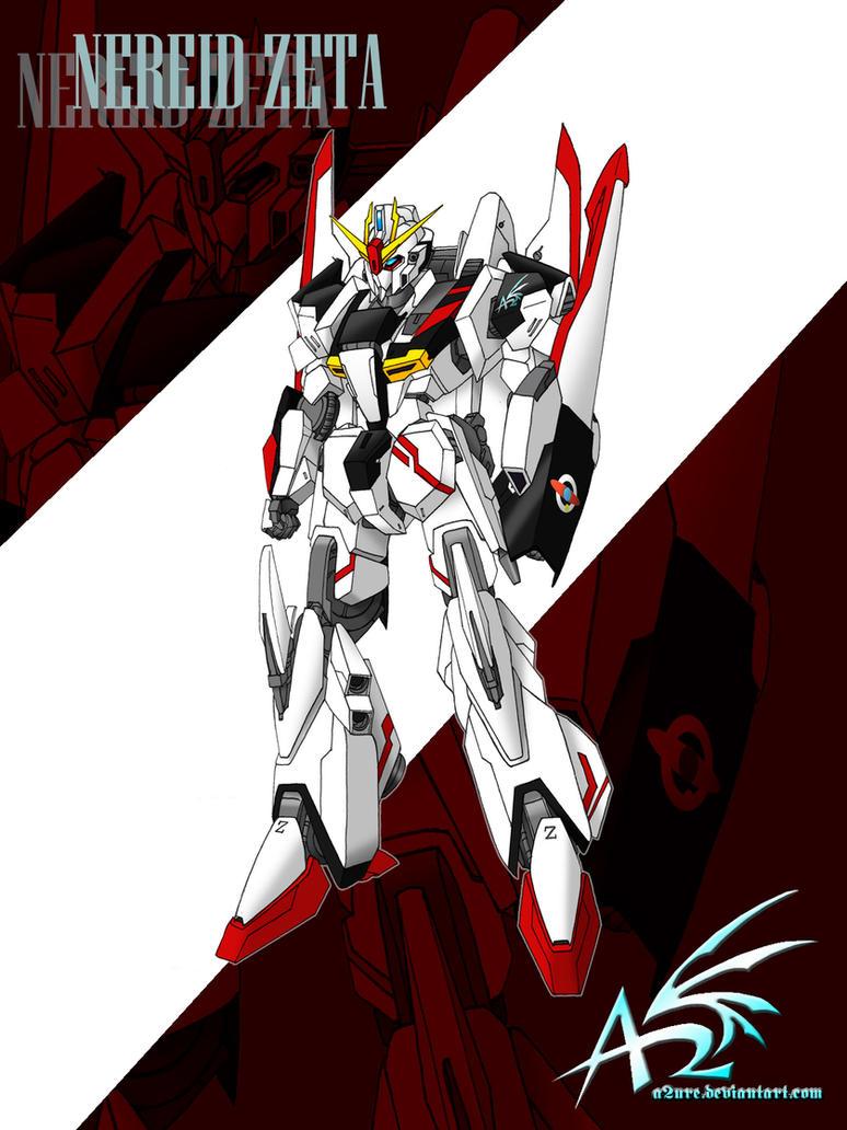 Nereid Zeta Gundam By A2ure On Deviantart