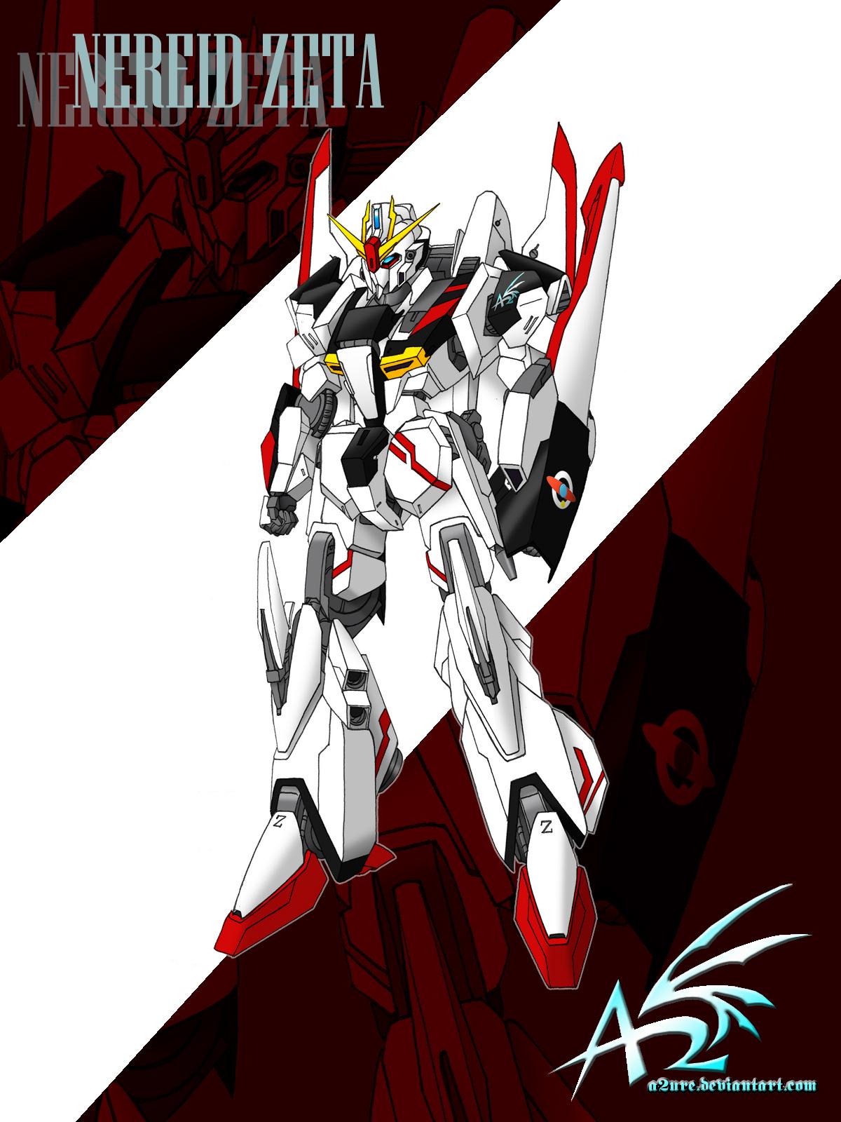Nereid Zeta Gundam by a2ure