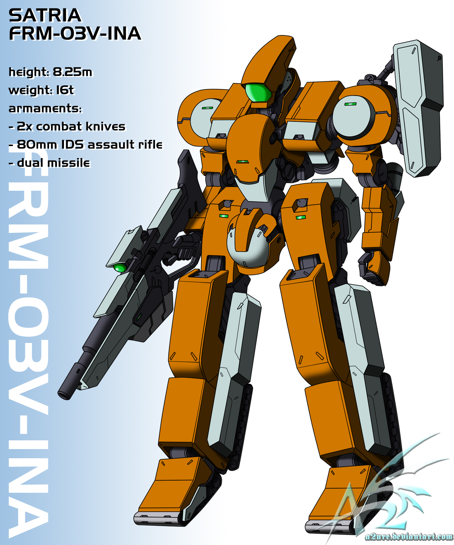 FRM-03v-INA 'Satria' by a2ure