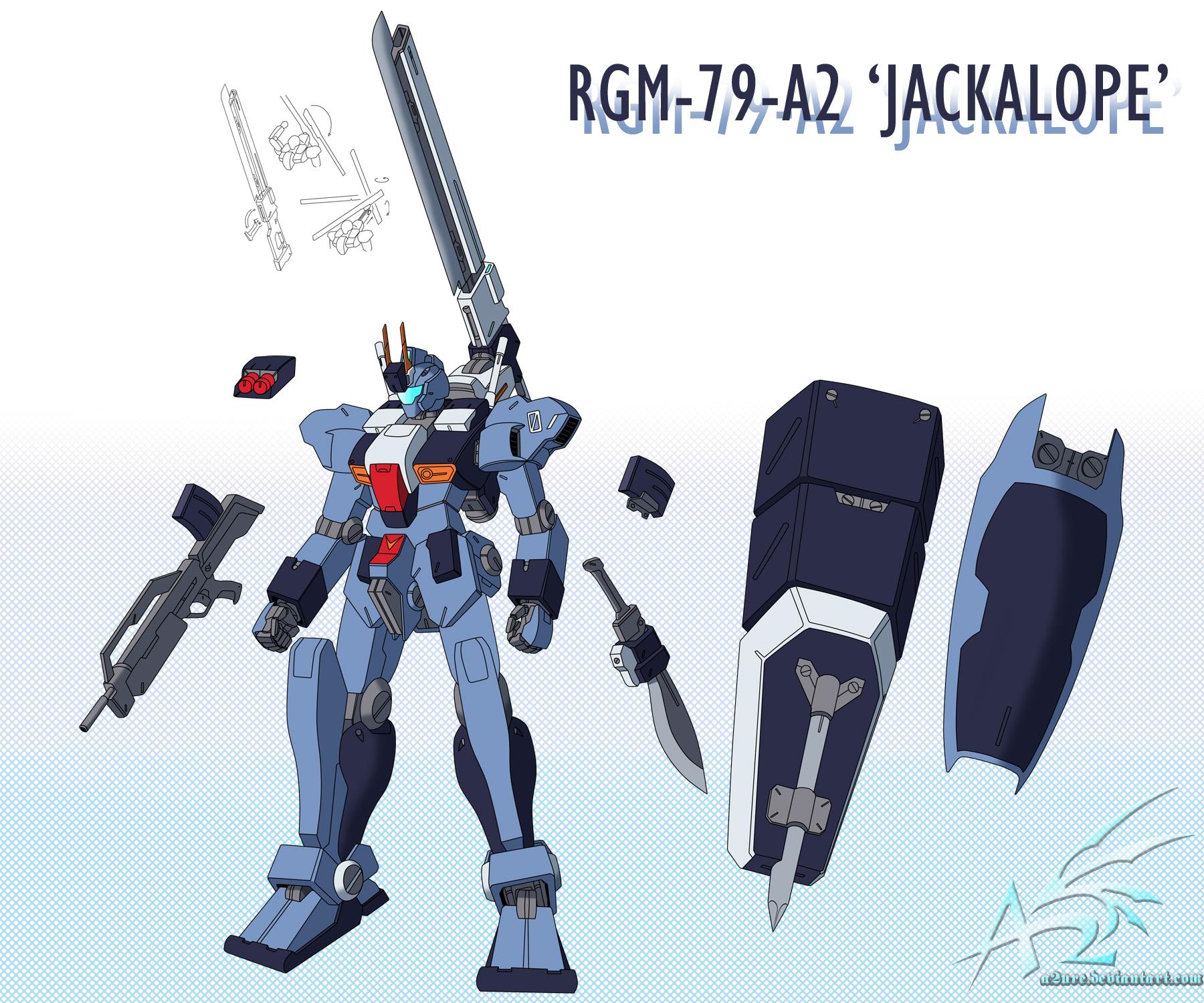 RGM-79-A2 Jackalope by a2ure