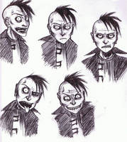 Faces of Johnny C. by DevminGlening