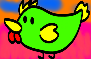 Green Chicken by DJFLuFFy-vs-joe