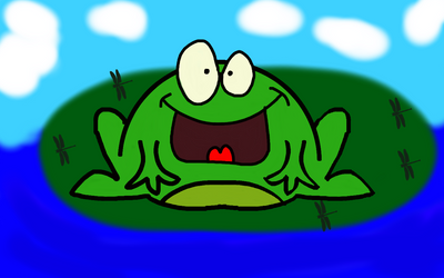 Frog on a LilyPad