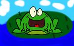 Frog on a LilyPad by DJFLuFFy-vs-joe