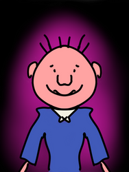 Generic Nickelodeon Styled boy with background