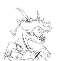 BLIND CONTOUR DRAWING 3 by tiredsloth