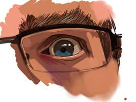 Sketch Your Eye by tiredsloth