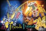 Agumon and Gabumon Friends Forever!