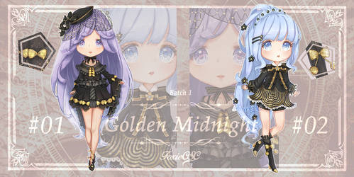 Adopt auction [CLOSE] Golden Midnights