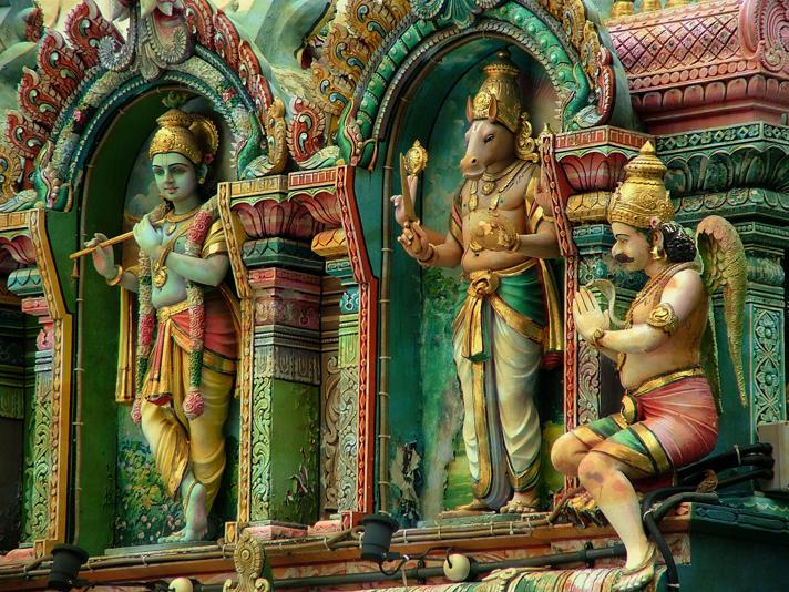 Calendar Art Of Hindu Gods : Hindu temple by mr stick on deviantart