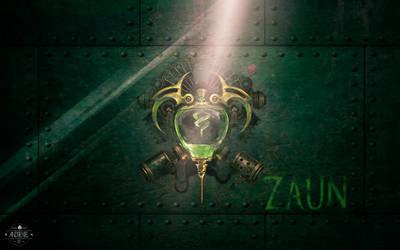 League of Legends Zaun WallPaper by Andrexiel