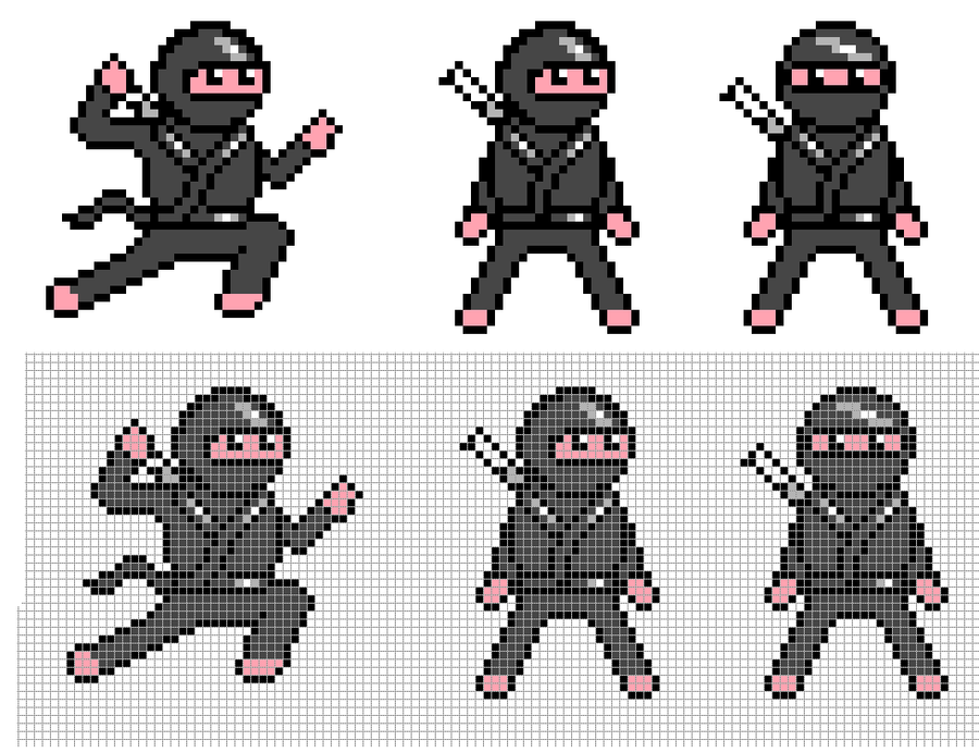 Ninjas by Hama-Girl