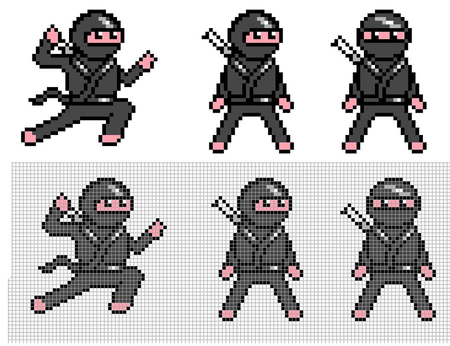 Ninjas by Hama-Girl