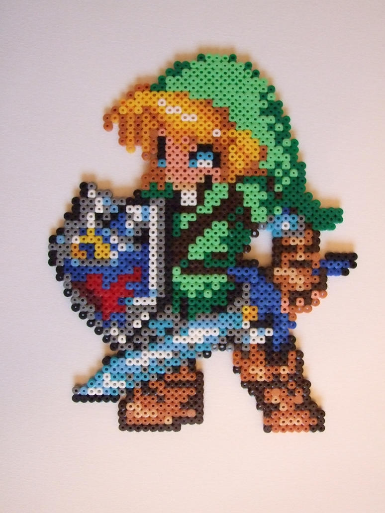 Link Hama Bead Art By Hama Girl On Deviantart