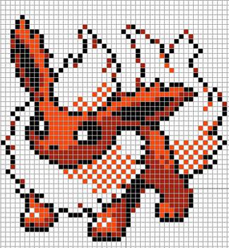 Pokemon Templates On Pixel Craft Deviantart