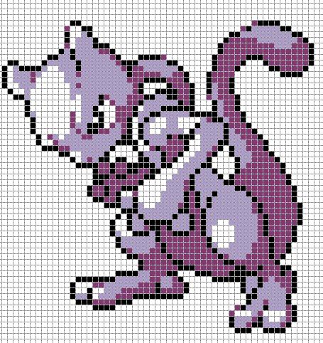 Pixel Art Pokémon Légendaire Facile