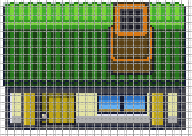 Pixel House 2 by Hama-Girl on DeviantArt