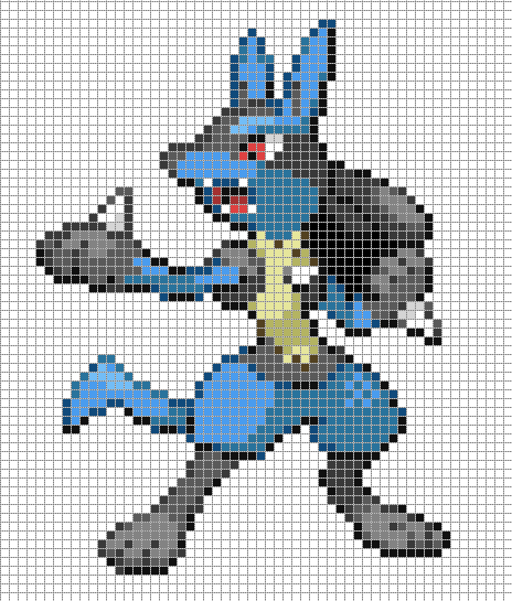 Pictures Of Starter Pokemon Pixel Art Templates Rock Cafe