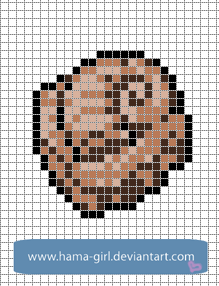 Pokemon templates on pixel craft deviantart helix fossil by hama girl pronofoot35fo Image collections