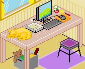 Pixel Desk by Hama-Girl