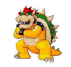 Bowser Pixel Art