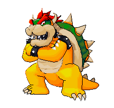 Bowser Pixel Art by Hama-Girl