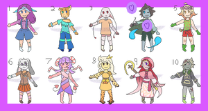 [OPEN 9/10] Assorted pixels adopts by Rinn-Alt