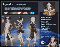 Sapphire anthro ref(2016) by Aziria