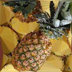 Abstract Art : Fruits : Pineapples